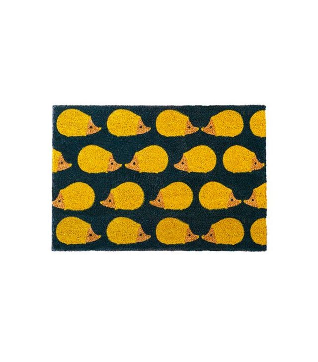 Anorak Kissing Hedgehogs Doormat