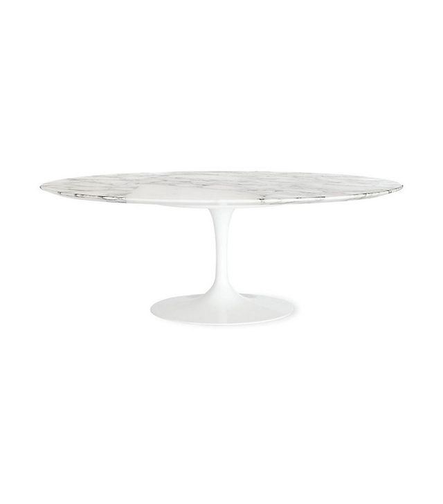 Knoll Saarinen Low Oval Coffee Table