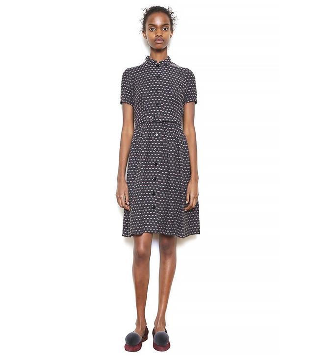 Granée Button-Down '50s Dress