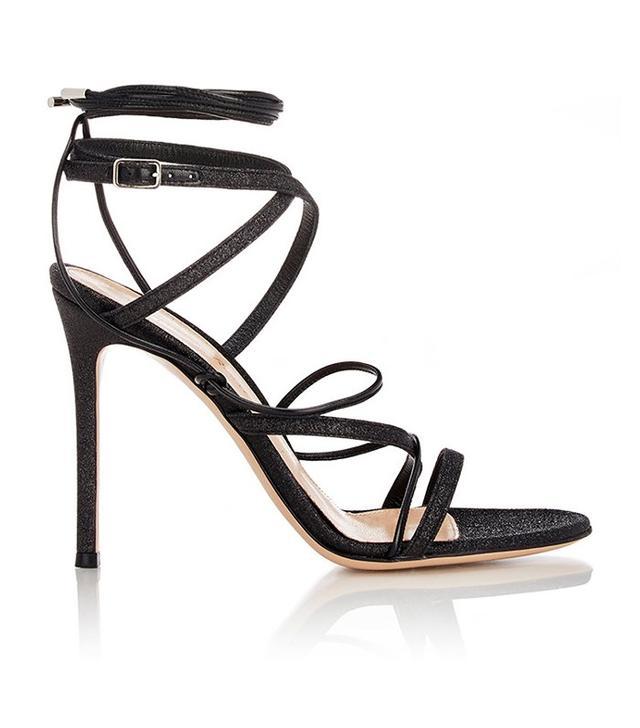 Gianvito Rossi Glitter Ankle-Strap Sandals $795