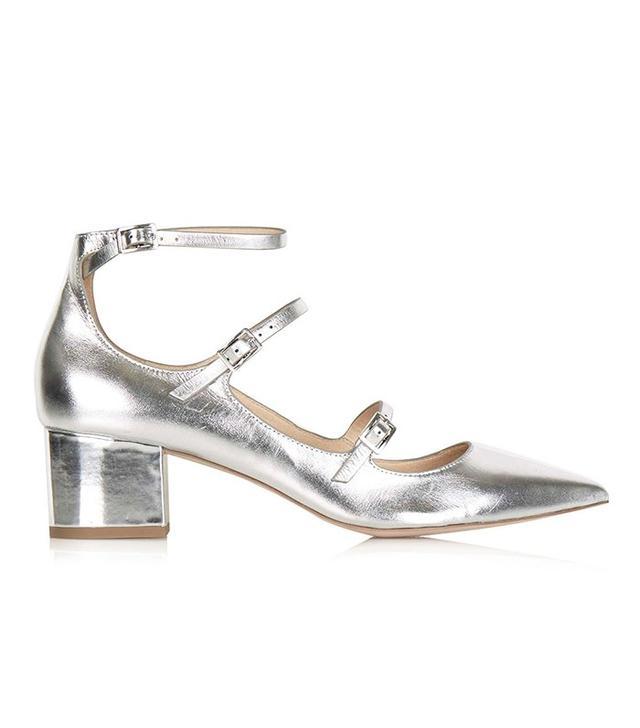Topshop Jolene Buckle Mid Shoes