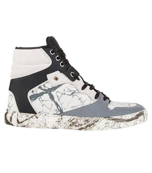 Balenciaga Multi-Material Marble Sneakers