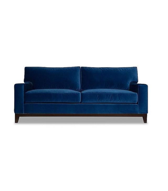 Moss Studio Manhattan Velvet Sofa