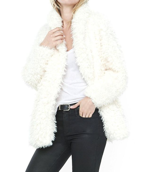 Express Sherpa Wedge Jacket