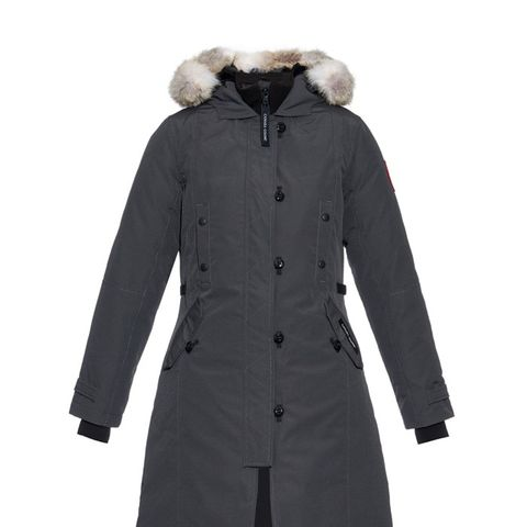 Kensington Fur-Trimmed Down Parka