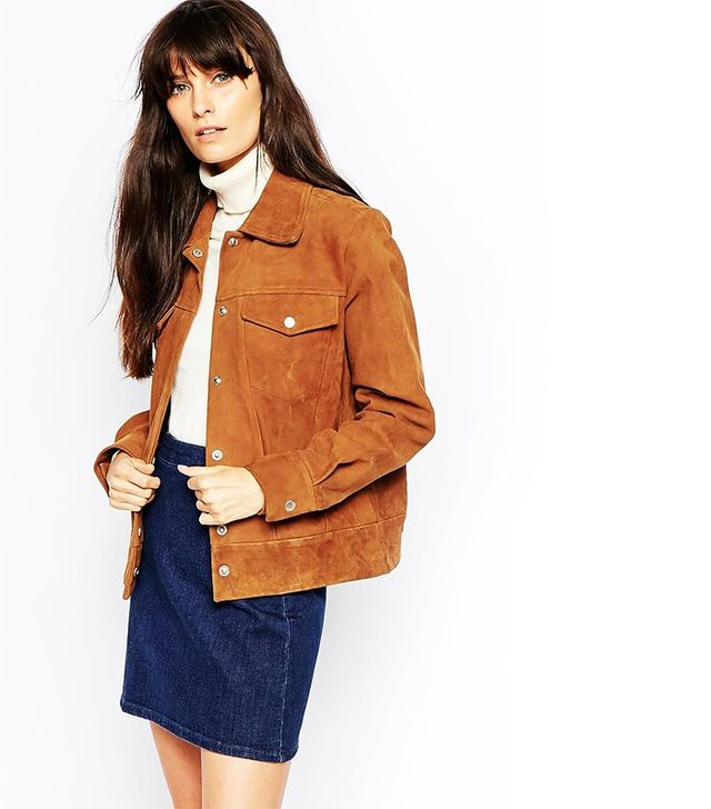 Wood Wood Joni Jacket in Suede
