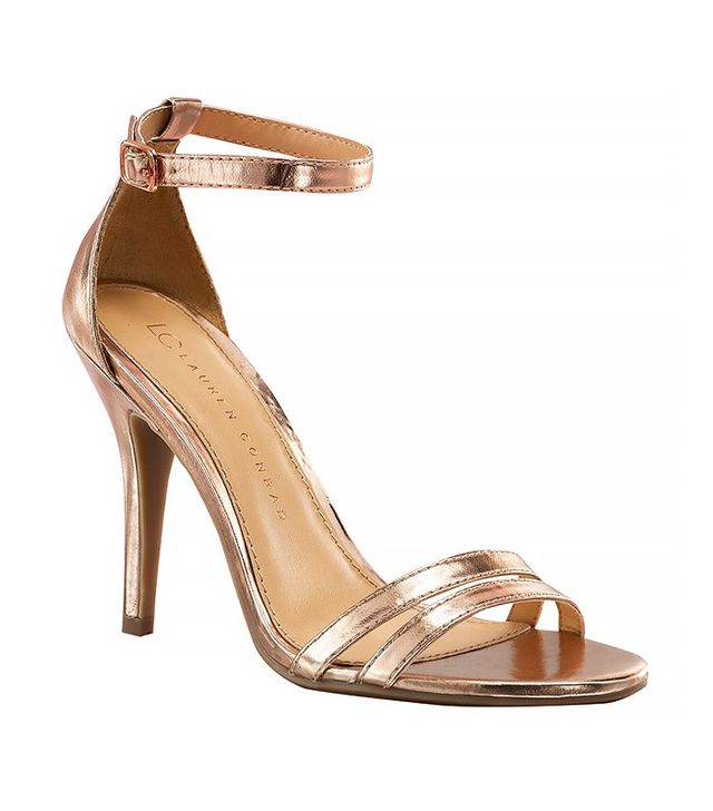 LC Lauren Conrad Runway Collection Ankle Strap Heels