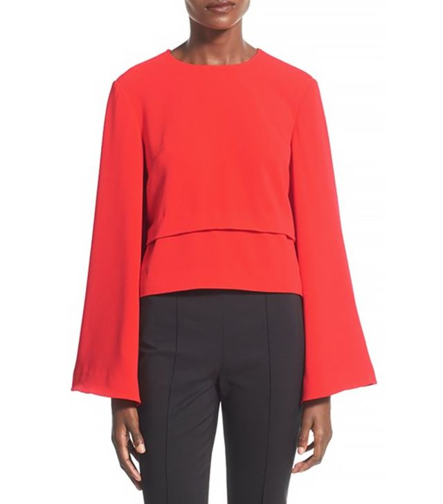 Finders Keepers The Label Bell Sleeve Top