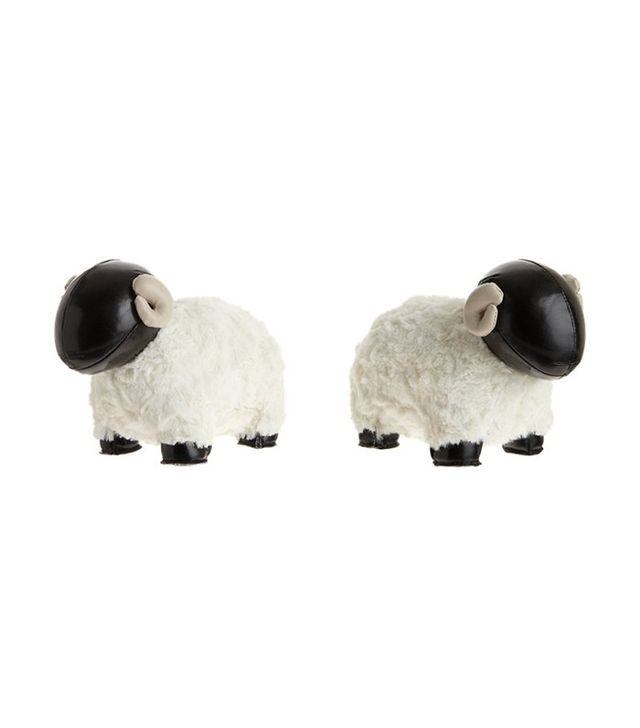 Zuny Bony II Sheep Bookends