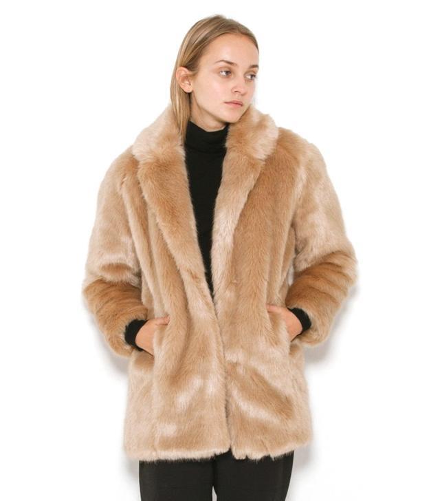 Designers Remix Faux Fur Coat