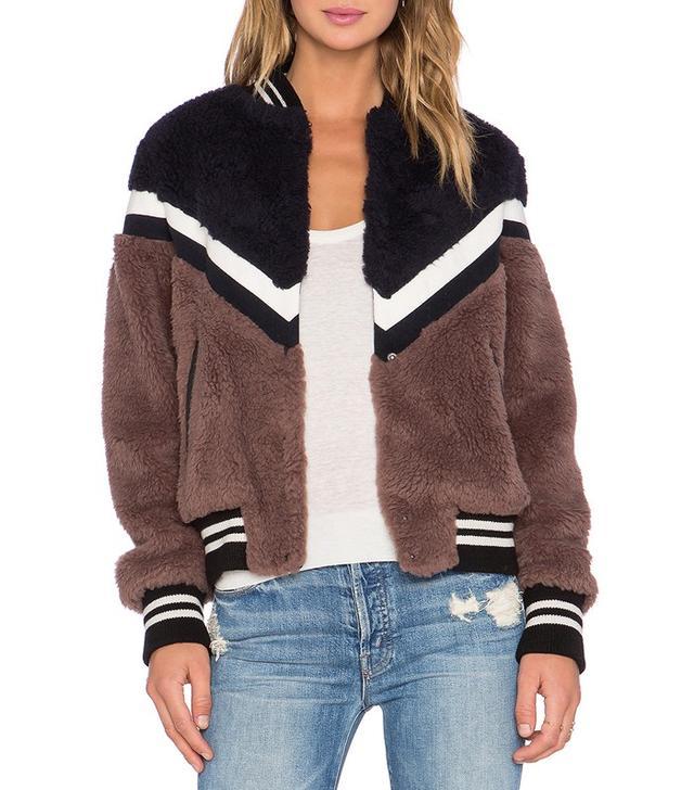 Essentiel Keegan Faux Fur Jacket