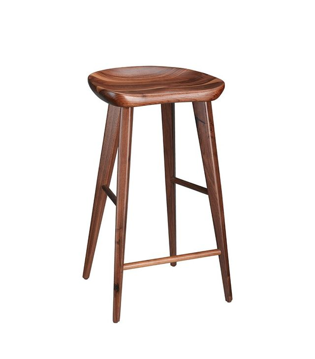 Rejuvenation Walnut Tractor Seat Bar Stool