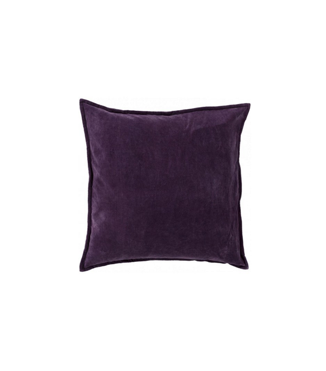 Lulu & Georgia Maxen Pillow in Eggplant