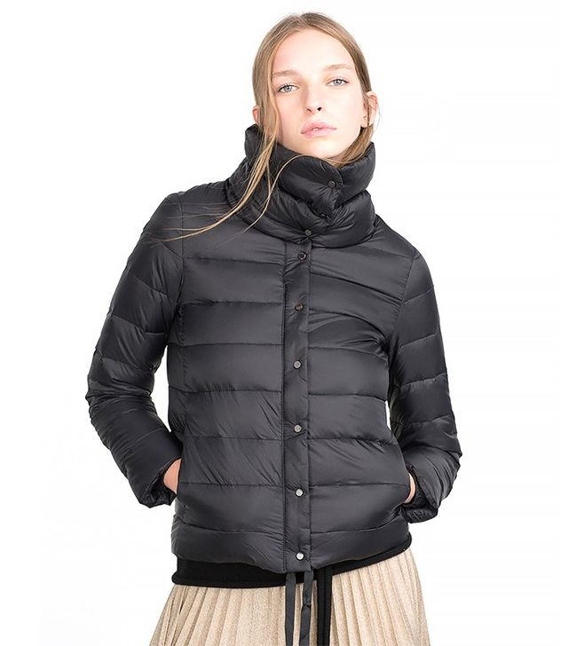 Zara Extralight Quilted Coat