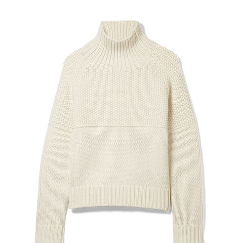 Dawson Cashmere Turtleneck Sweater