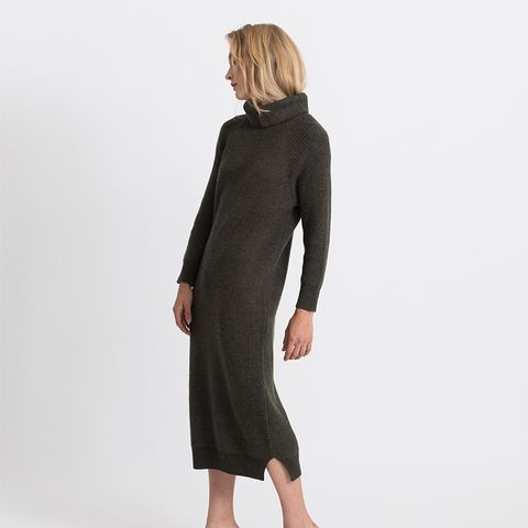 Una Turtleneck Sweater Dress