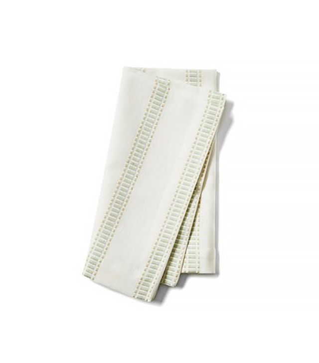 One Kings Lane Chunky Stripe Dinner Napkins