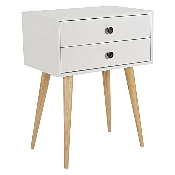 Zanui Lois White Side Table