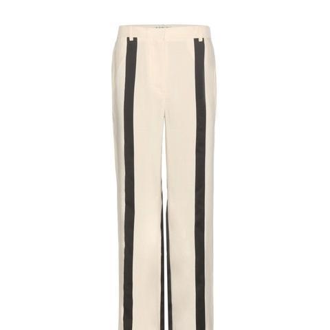 Obel Linen-Blend Trousers