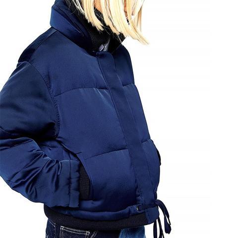 Padded Jacket in Satin
