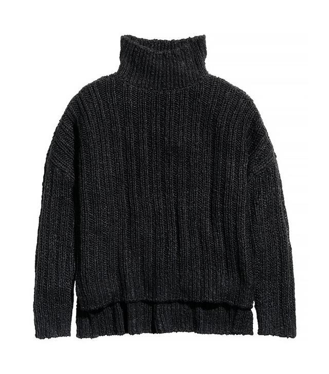 H&M Oversized Turtleneck Sweater