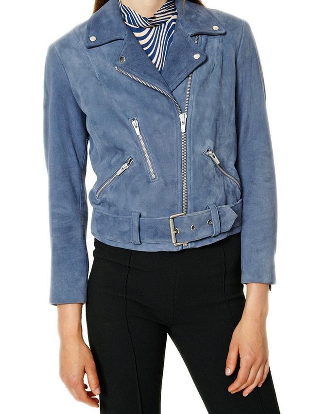 Veda Punk Suede Jacket