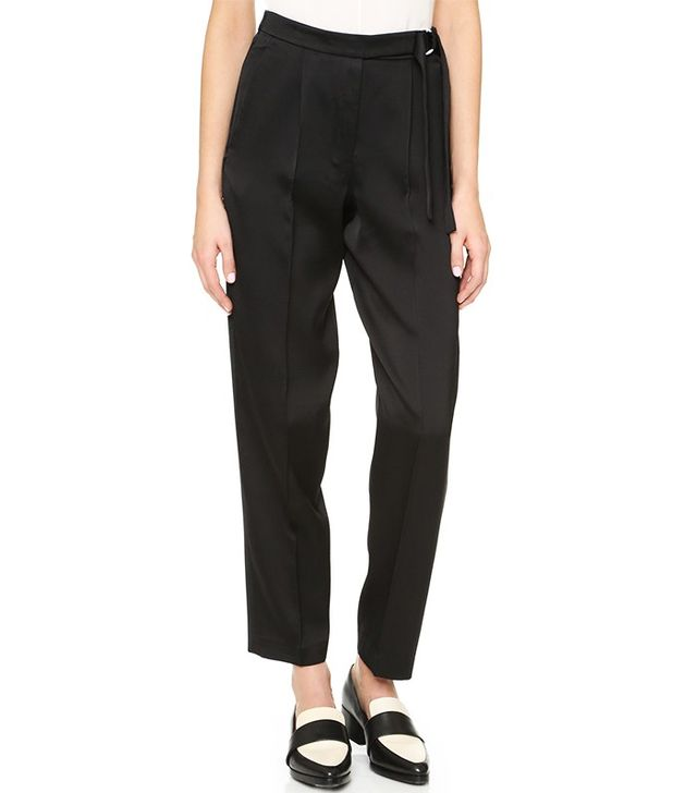 Edun Tapered Pants With D-Ring Belt