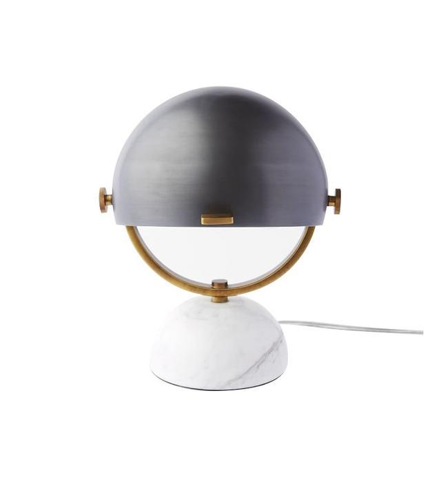 Half-Round Mini Task Lamp