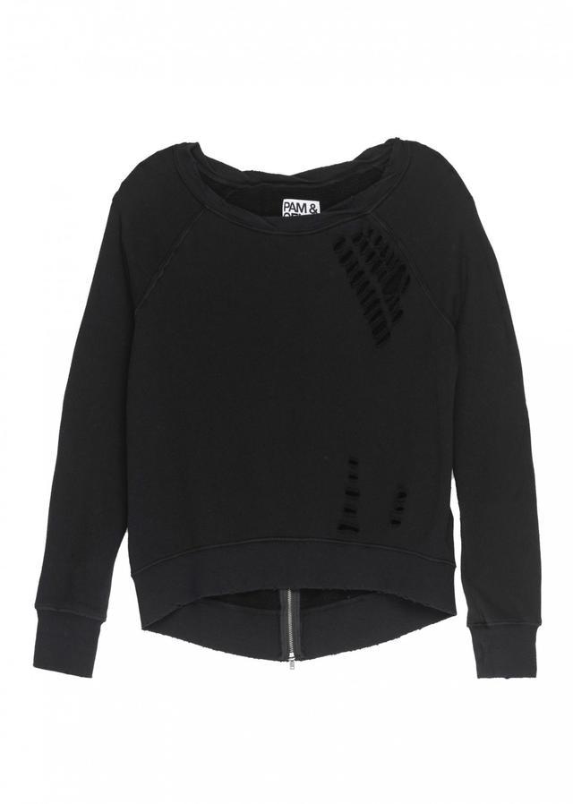 Pam & Gela Distressed Annie Sweatshirt