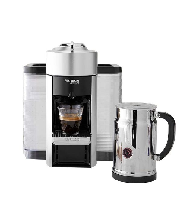 Nespresso Deluxe Coffee and Espresso Maker With Milk Frother