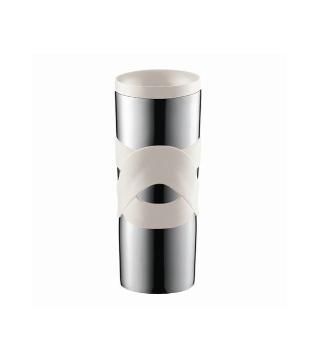 Bodum Bistro Double-Walled Stainless-Steel Travel Mug