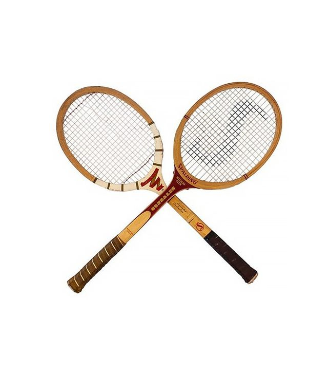 Simply Fabulous Spalding Tennis Racquets, Pair