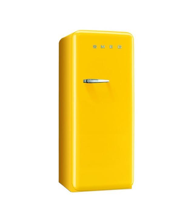 Smeg Yellow Retro Refrigerator