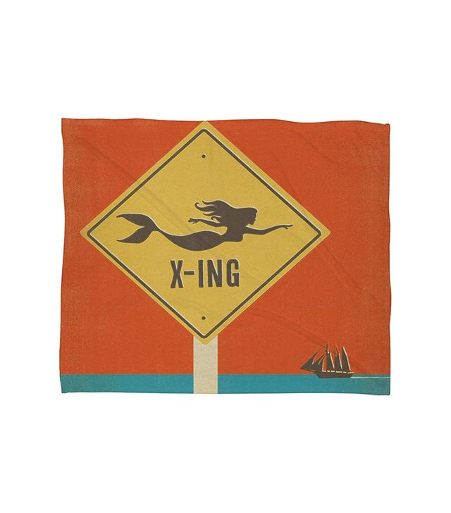 Anderson Design Group Mermaid X-Ing Throw Blanket