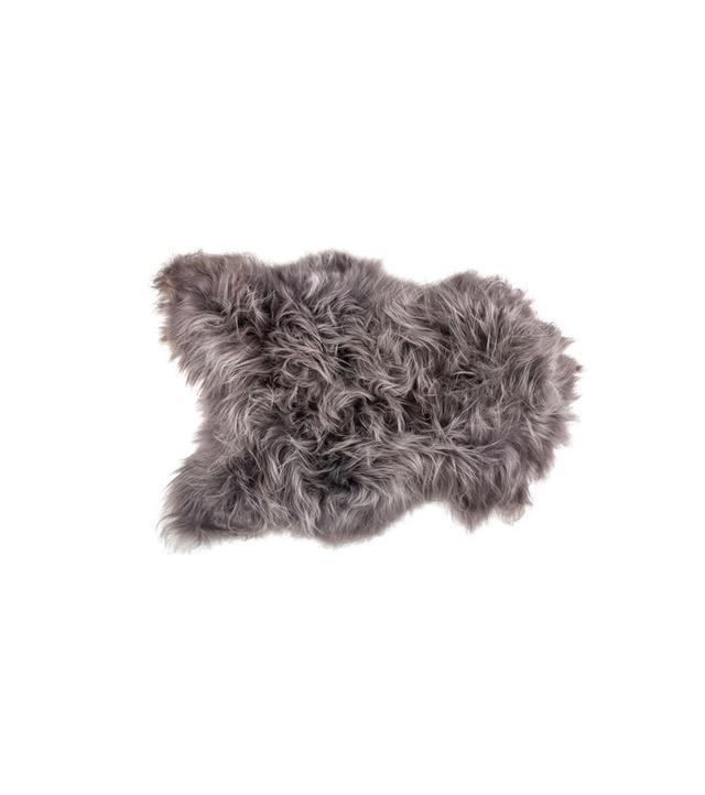Natural Icelandic Long-Haired Sheepskin