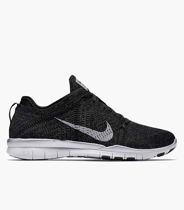 Nike Free TR 5 Flyknit Metallic Sneakers
