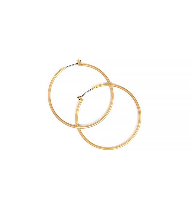 Madewell Simple Hoop Earrings