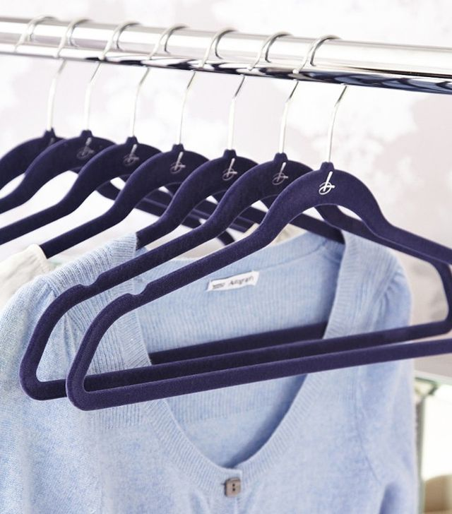 Lakeland Blue Space Saving Non-Slip Hangers