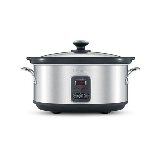 Breville The Smart Temp 6 litre programmable slow cooker with Temperature IQ