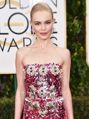 Must-See: Kate Bosworth's Stunning Golden Globes Dress Up Close