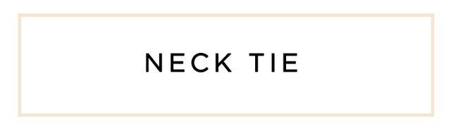 """Mock necks, tie necks, roll necks—every Melbourne girl will have neck detail somewhere in her closet."""