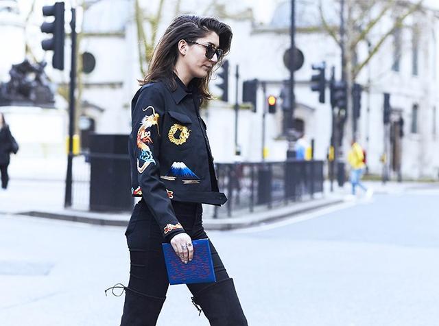 What Street Chic Women Wear to Men's Fashion Week