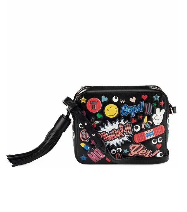 Anya Hindmarch All Over Stickers Cross Body Bag