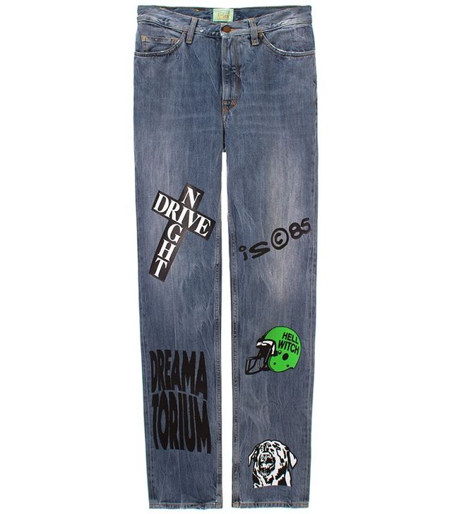 Aries Painted Norm Jeans