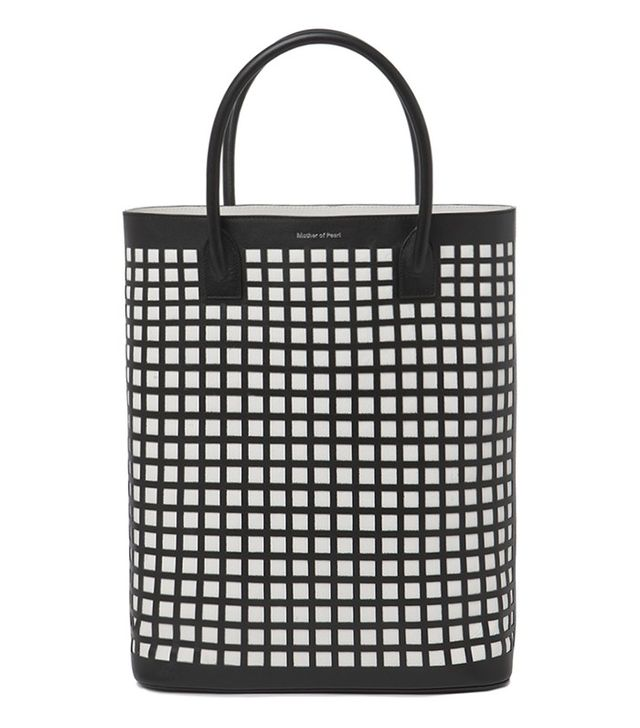 Mother of Pearl Gently Shopper Bag