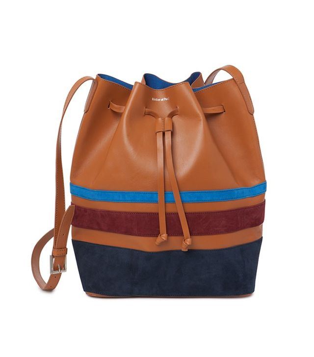 Mother of Pearl Charlton Small Bucket Bag