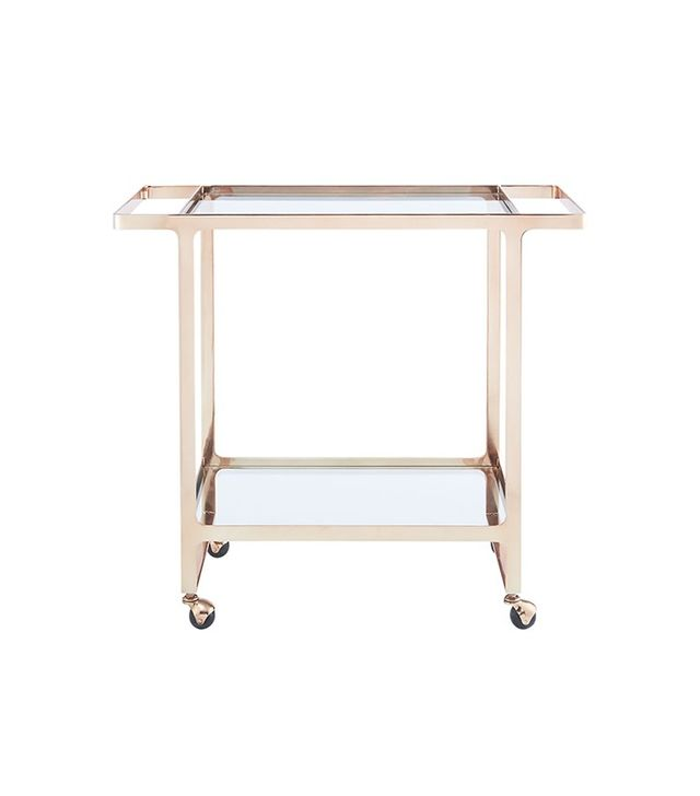 CB2 Dolce Vita Bar Cart