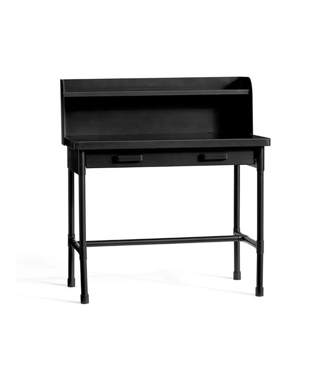 Pottery Barn Knox Metal Desk With Hutch