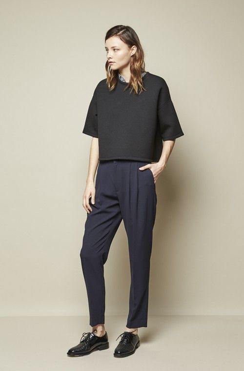 Achro Pleated Relaxed Pants