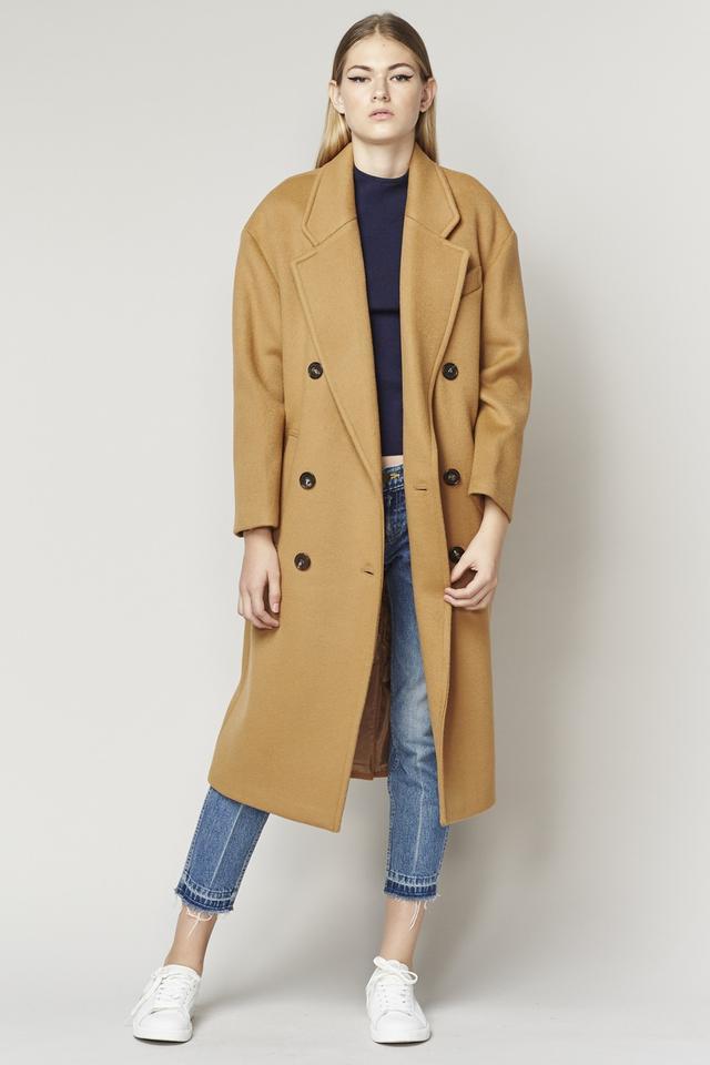 Achro Long Wool Coat